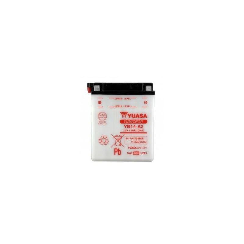 Batterie YUASA type YB14-A2