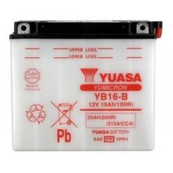 Batterie YUASA type YB16-B