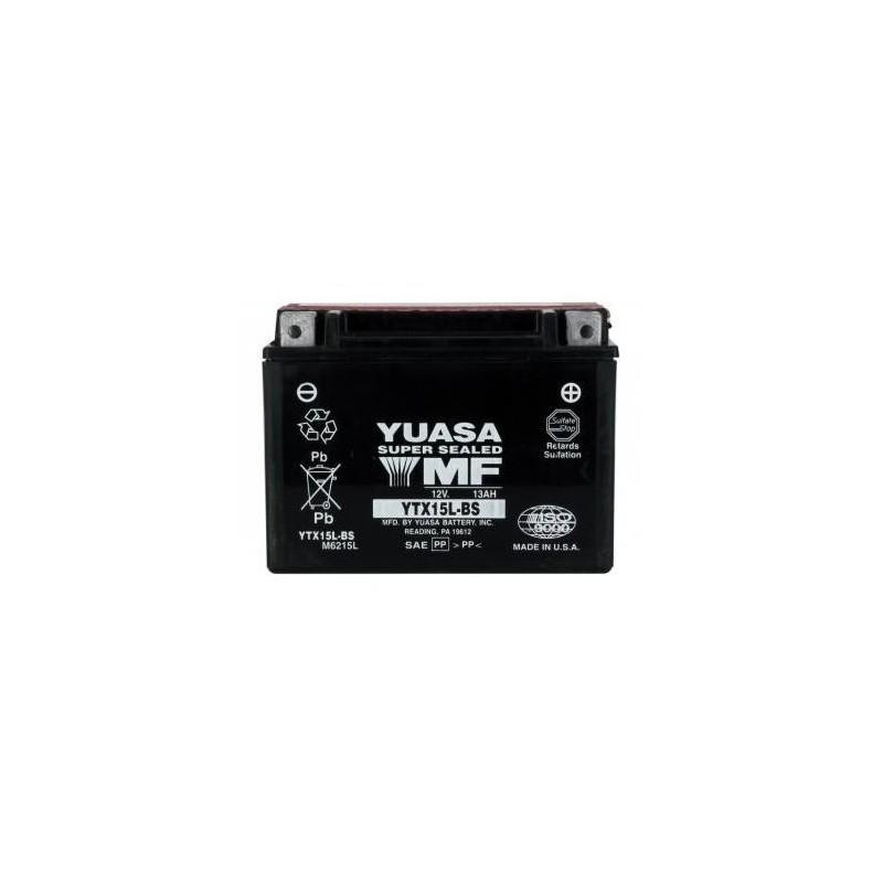 Batterie YUASA type YTX15L-BS