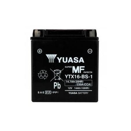 Battery YUASA type YTX16-BS-1