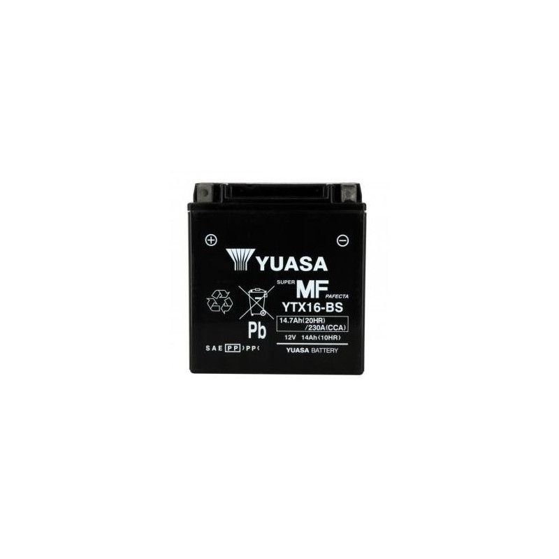 Battery YUASA type YTX16-BS