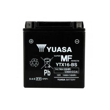 Battery YUASA type YTX16-BS