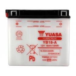 Batterie YUASA type YB18-A