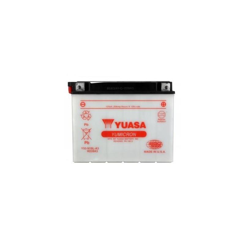 Battery YUASA type Y50-N18L-A3