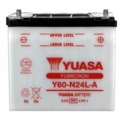 Battery YUASA type Y60-N24L-A