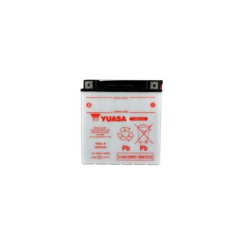 Battery YUASA type YB30L-B