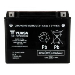 Batterie YUASA type YTX24HL-BS