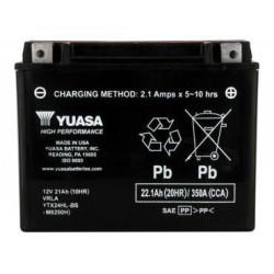 Battery YUASA type YTX24HL-BS