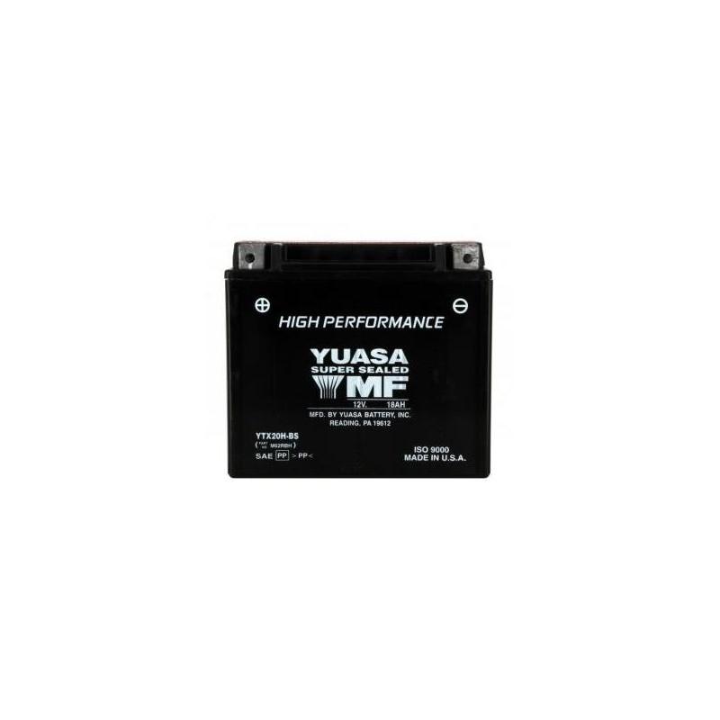 Batterie YUASA type YTX20H-BS