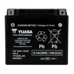 Battery YUASA type YTX20HL-BS