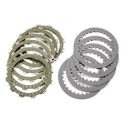 Clutch discs and springs